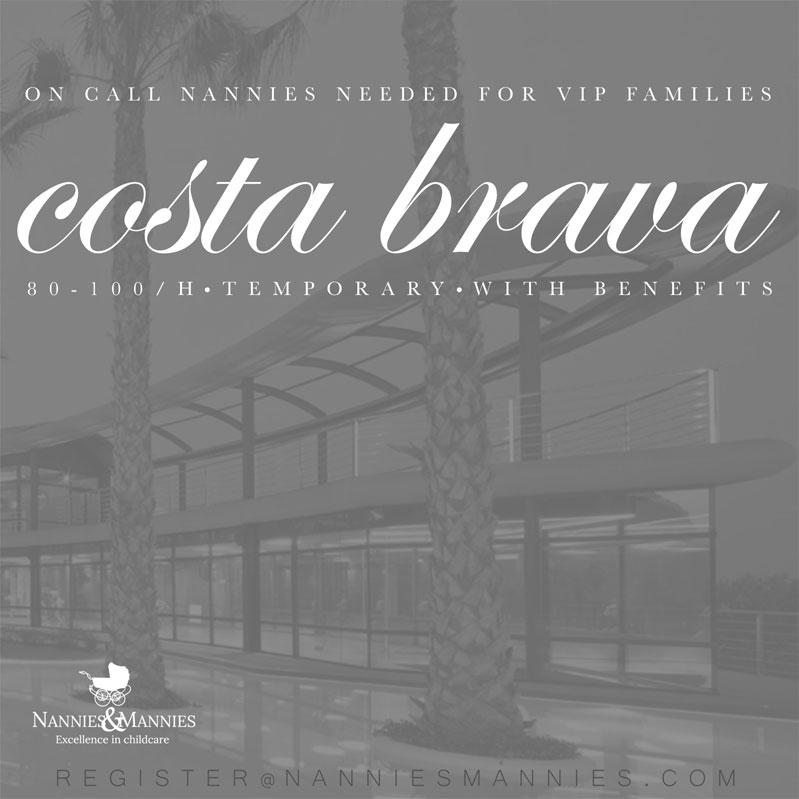 Nannies for VIPs, Costa Brava