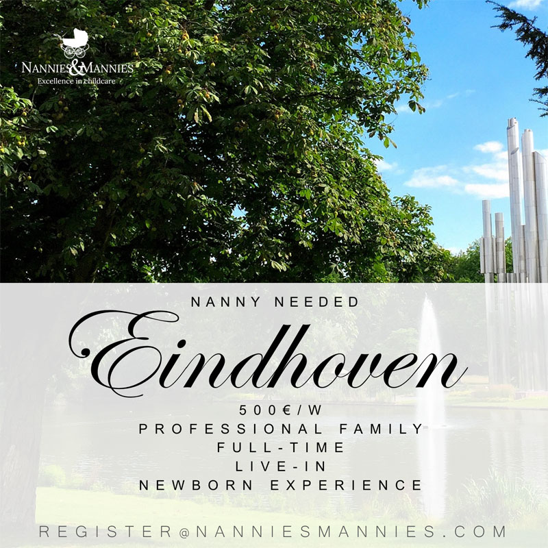 Full time nanny required in Eindhoven
