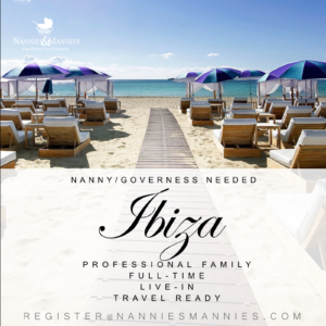 Full-time/Live-in Nanny/Governess Needed - Ibiza