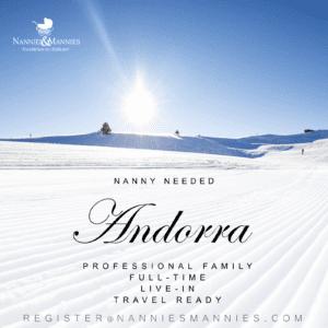 Live-in Nanny Needed - Andorra