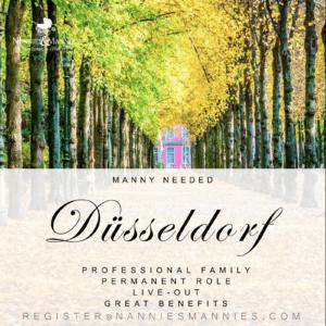 Permanent Role, Live-out Manny Needed – Düsseldorf